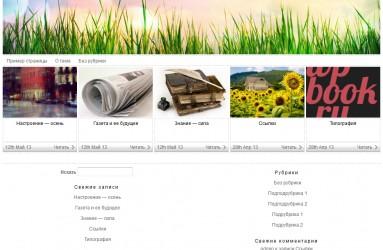 Photologger - тема wordpress на русском