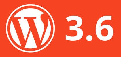 Вышел WordPress 3.6! Что нового?