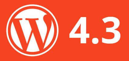 Вышел WordPress 4.3 (Billie). Что нового?