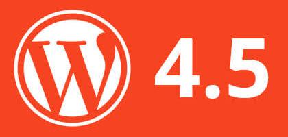 Вышел WordPress 4.5 (Coleman). Что нового?